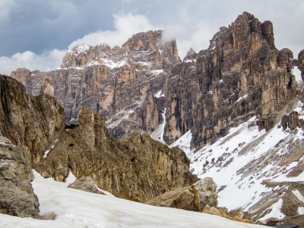 Dolomites summits