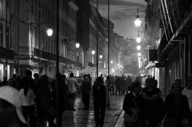 Lisbon Evening Rush