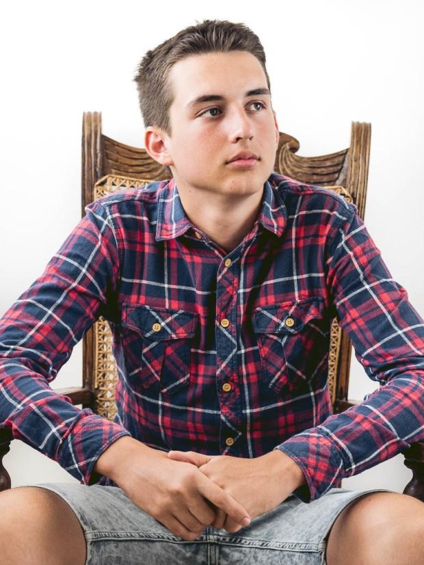 Portrait of Teenager Daniel