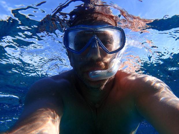 Snorkling Selfie