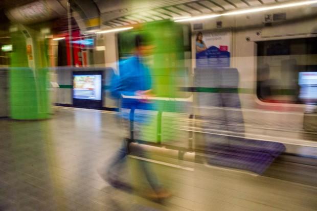 Subway Ghost