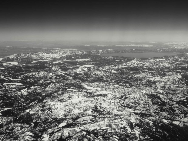 Monochrom Aerial Photography 04
