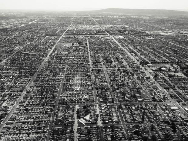 Monochrom Aerial Photography 09