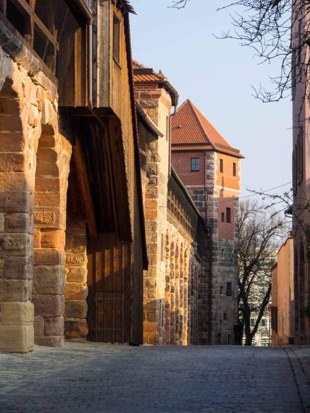 Nuremberg Historic City Walls 04