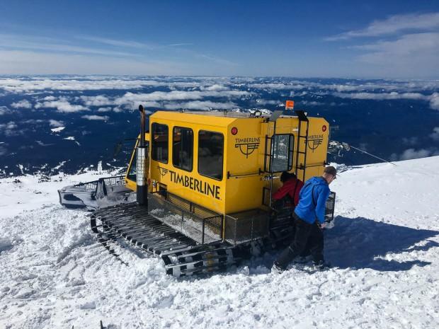 Skiing Mount Hood 05