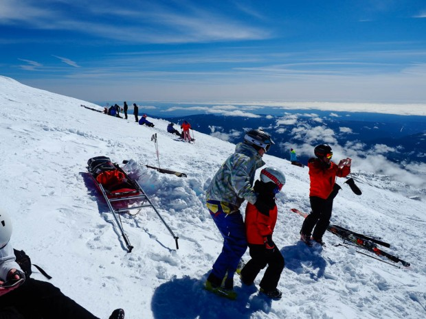 Skiing Mount Hood 07