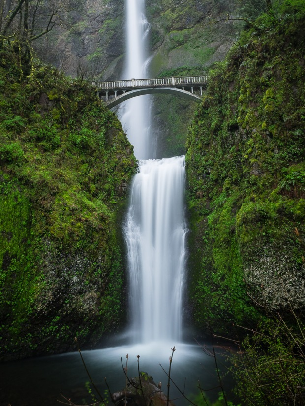 Multnomah Falls Long Exposure