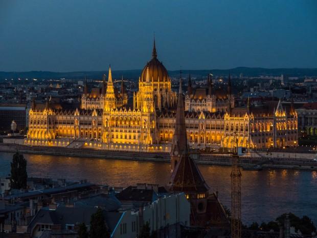 Illuminated Parliament