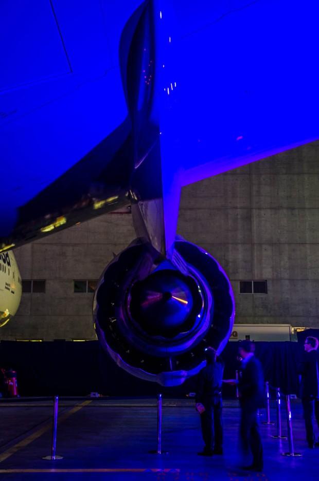 Lufthansa B747-8 Event