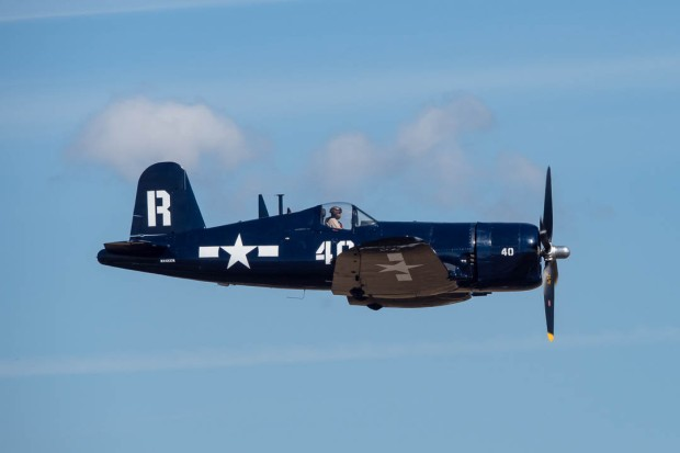 Vought F4U-7 Corsair