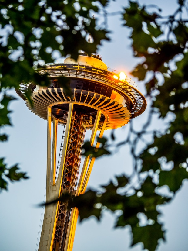 Space Needle | 1/200 sec - f/4 - ISO 250 - 100mm